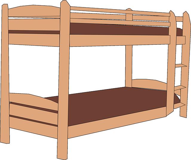 Dvouposchoďová postel