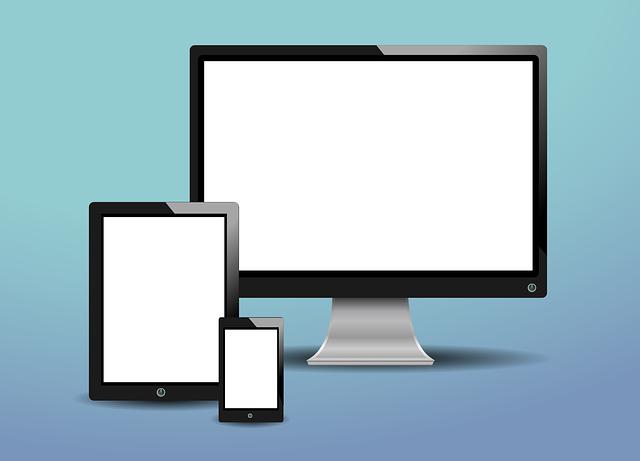 bílé obrazovky