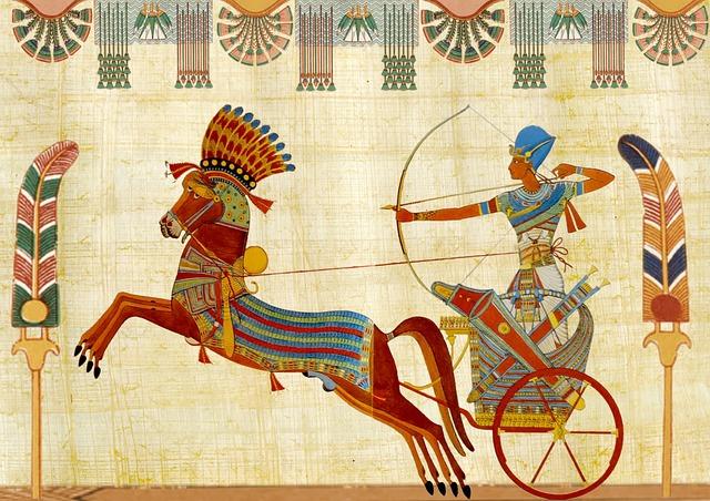 egyptský faraon