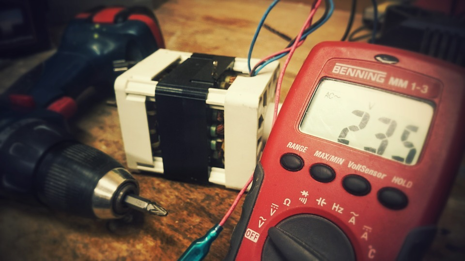 meranie elektrického napätia